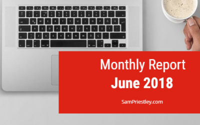 My Monthly Report – June 2018